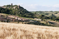 Village of Tuscany Stock Photography