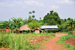 Village in Uganda Royalty Free Stock Images