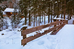 Village Umhausen - Tirol Austria Stock Photo