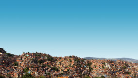 Village Under the Blue Sky during Day Timne Royalty Free Stock Images