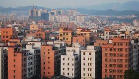 Village urbain Image libre de droits