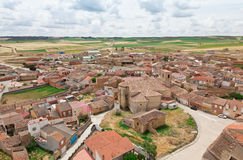 Village in Valladolid Stock Photo