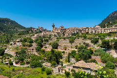 Village of Valldemosa Mallorca. Village of Valldemosa, Mallorca, Balearic Islands, Spain Stock Photography