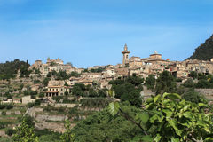 Village Valldemossa Stock Image
