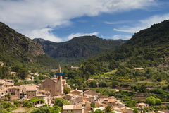 Village of Valldemossa Royalty Free Stock Photography