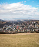 Village in the valley Royalty Free Stock Photo
