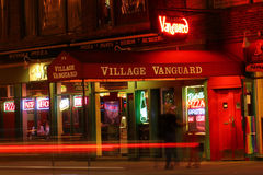 Village Vanguard. One of the main NYC and American jazz clubs. The Village Vanguard is a jazz club located at 178 7th Avenue South in Greenwich Village, New York Stock Images