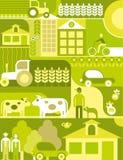 Village - vector illustration vector illustration