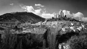 The village of Velez-Blanco Royalty Free Stock Images
