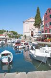 Veli Losinj,Losinj Island,Croatia. Village of Veli Losinj on Losinj Island,adriatic Sea,Croatia Stock Photo