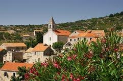 Village of Velo Grablje. The old village on the Croatian island of Hvar Stock Photography