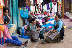 Village Vendors Royalty Free Stock Images