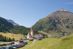 Village of Vent, Otztal, Tyrol Royalty Free Stock Images