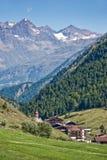 Village of Vent in Otztal Stock Photo