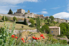 Village Vercoiran in France Stock Photography
