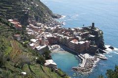 Village Vernazza Cinque Terre Italy Stock Photo