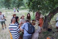 Village Vesele, Nova Kakhovka, Ukraine, 9 July 2018, royalty free stock image