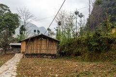 Village Vietnam de Lung Cam photo stock