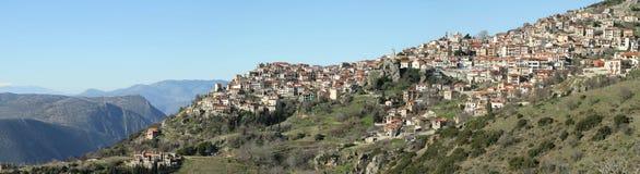 The village Stock Image
