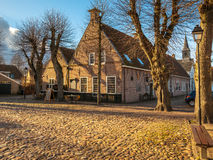 Village view Bourtange Royalty Free Stock Photo