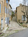 Village view in France Stock Image