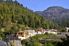 Village of Vilaflor at tenerife Stock Photo