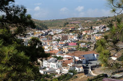 Village Vilaflor, Tenerife Spain Royalty Free Stock Images