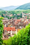 Village in the Vineyard Stock Photography
