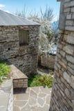 The village of Vradeto in Zagori area, Northern Greece Stock Photography