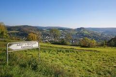 Village in Vulkaneifel district in Germany Stock Photos