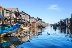 Village on water Stock Image