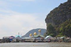 Village on water 4 Stock Photos