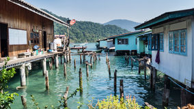 The village on the water Stock Photography