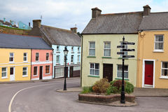 Village in West Cork, Ireland Royalty Free Stock Photography