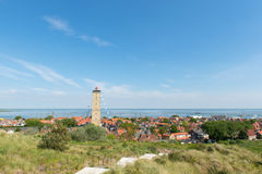 Village West-Terschelling in the Netherlands Stock Images