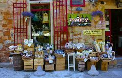 Village Wineshop, Tuscany Royalty Free Stock Photos