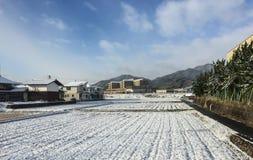 A village at winter in Takayama, Japan Stock Photos