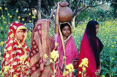 Village women. Royalty Free Stock Photos