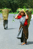 Village women at Northeast India Stock Photography