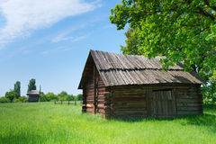 Village wooden storehouse Royalty Free Stock Images