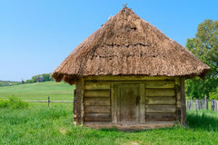 Village wooden storehouse Royalty Free Stock Photography