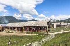 A Village in Xinjiang Royalty Free Stock Image