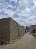 village in xinjiang province  Royalty Free Stock Photo