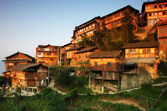 The Village Of Yao Monirity Royalty Free Stock Image