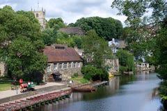Village in Yorkshire Stock Photo