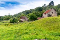 Village in Yorkshire. Royalty Free Stock Images