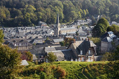 Village of Yport in France Stock Photo