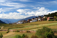 Village in Yunnan Royalty Free Stock Photos