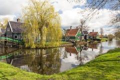 Village in Zaanse Schans, The Netherlands Stock Photos