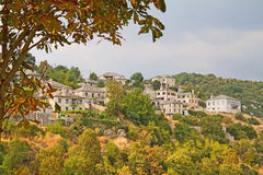 Village in Zagori Area Stock Photo